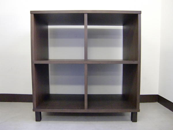 ☆Muji/無印良品□木製ブックシェルフ/本棚/飾り棚□タモ材